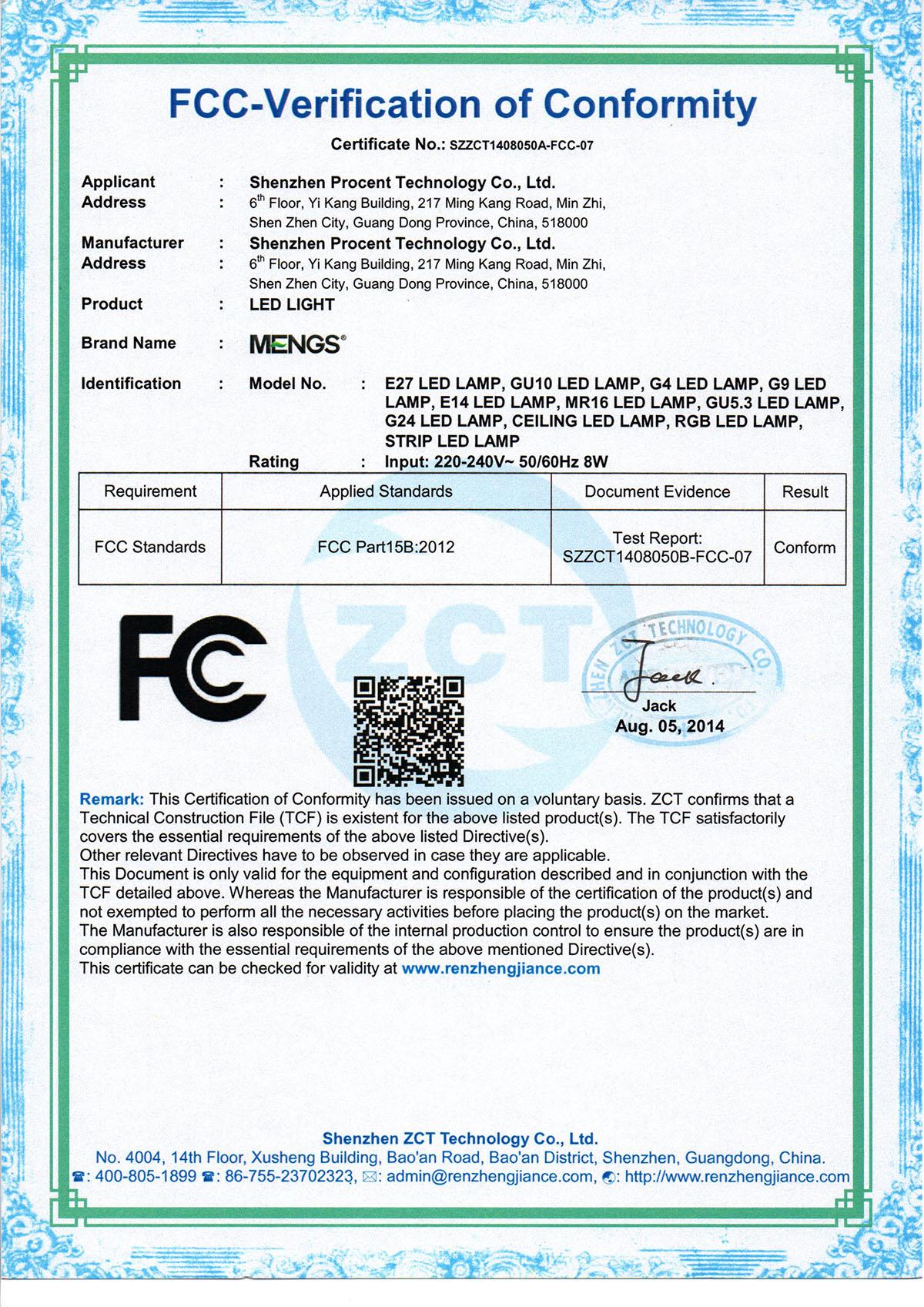 Mengs 4pcs Gu10 5w Led Dimmbar Spotlight Cob Led Lamp In