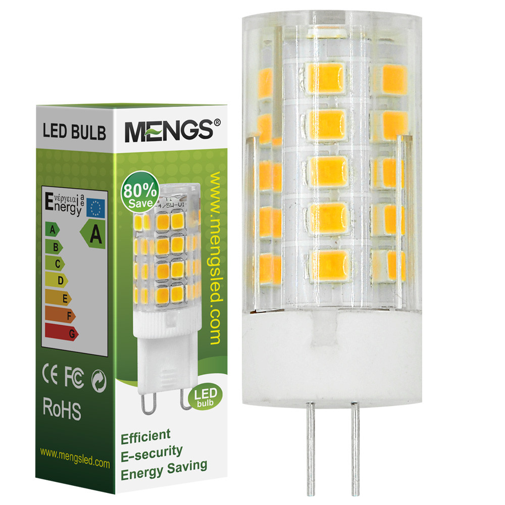 MENGS® G4 4W LED Corn Light 33x 2835 SMD LEDs LED Bulb Lamp AC/DC 12V in Warm White Energy-Saving Light