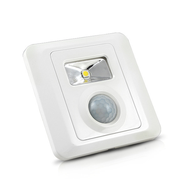 mengs tr007 02w led sensor light smd leds led motion sensor wall stepstair light in cool white light - Led Motion Sensor Light