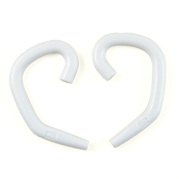 MENGS® E-100 Sports / Leisure Headphone Earloop Ergonomic In-Ear Headset Earhook - White