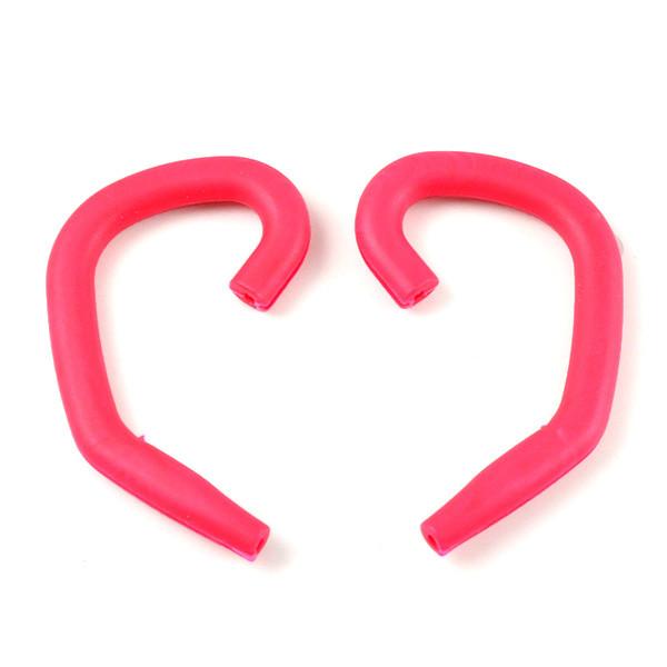 MENGS® E-100 Headphone Earloop Ergonomic In-Ear Headset Earhook - Red