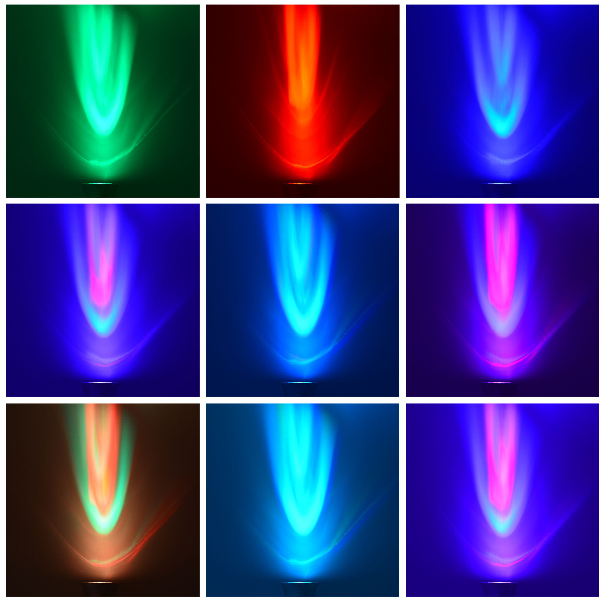 e14 3w led rgb light 16 colour changing smd leds led spotlight lamp bulb with ir remote control. Black Bedroom Furniture Sets. Home Design Ideas