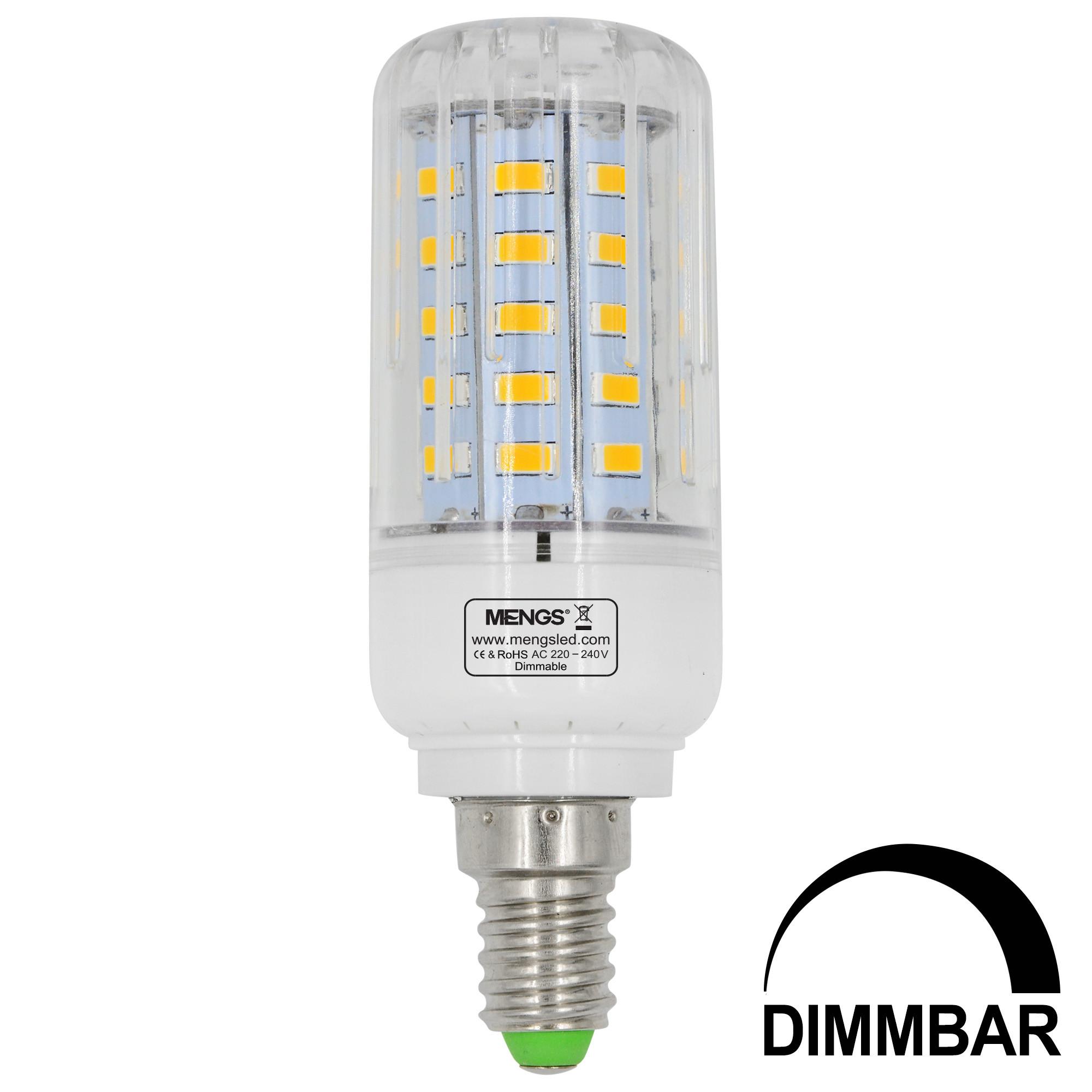 e14 7w led dimmable corn light 50x 5736 smd led bulb lamp ac 220 240v in warm white energy. Black Bedroom Furniture Sets. Home Design Ideas
