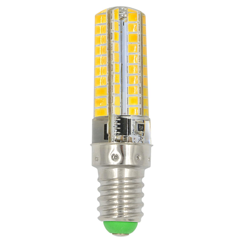MENGS® E14 7W LED Light 80x 2835 SMD 3-level Brightness LED Bulb Lamp In Cool White Energy-Saving Light