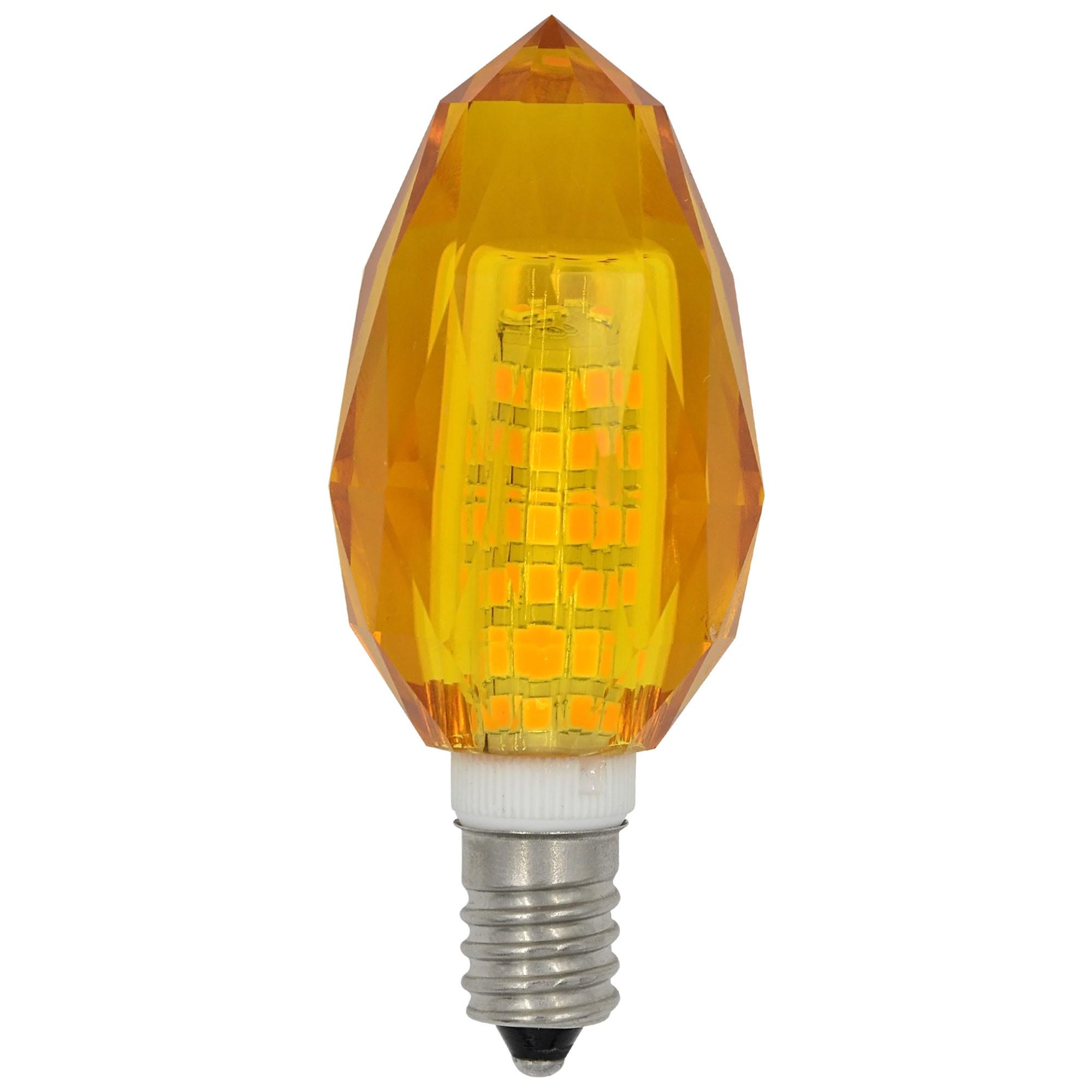MENGS® E14 7W LED Light 75x 2835 SMD LED Bulb Lamp AC 220-240V Orange Energy-Saving Light