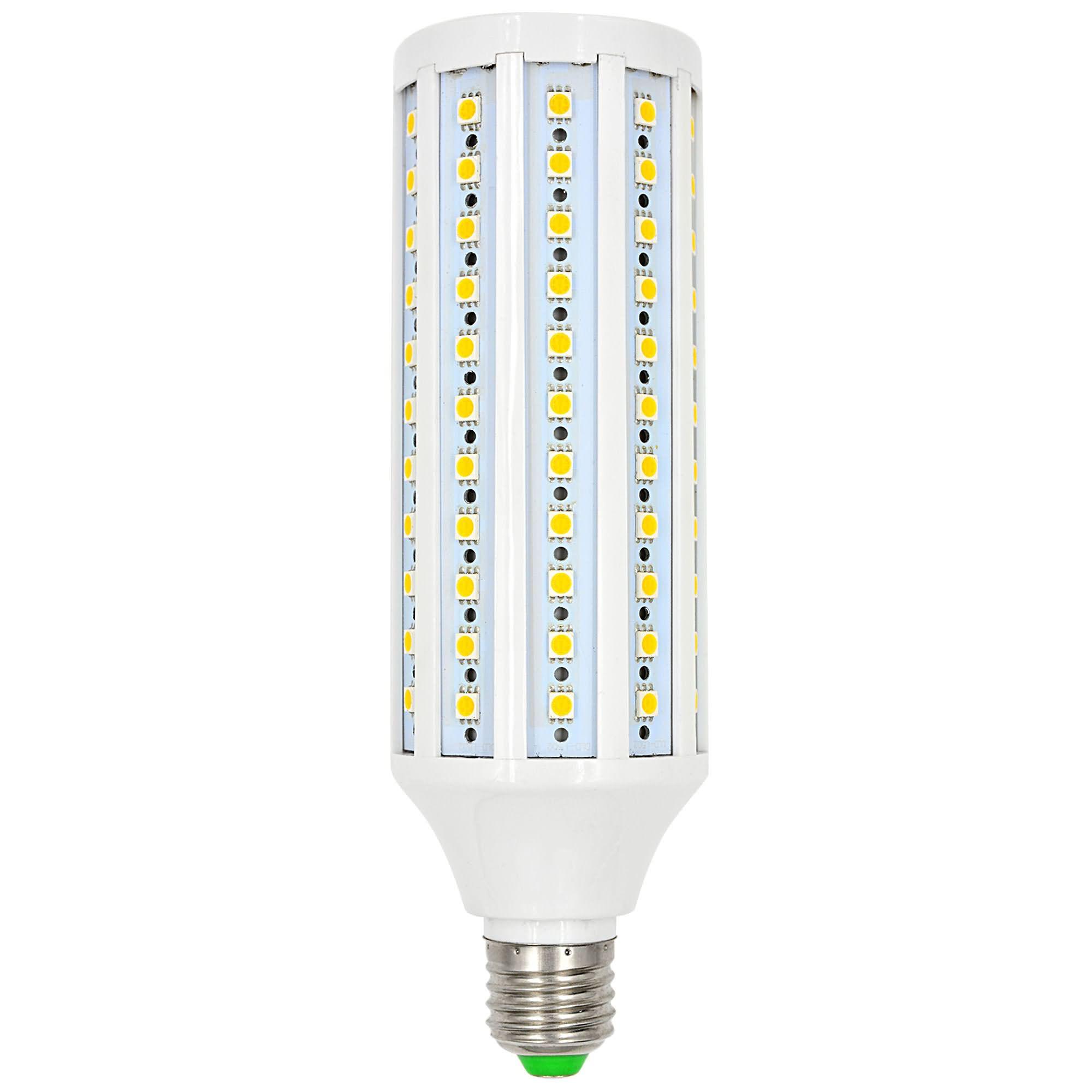 MENGS® E27 21W LED Corn Light 132x 5050 SMD LEDs LED Bulb In Warm White Energy-Saving Lamp