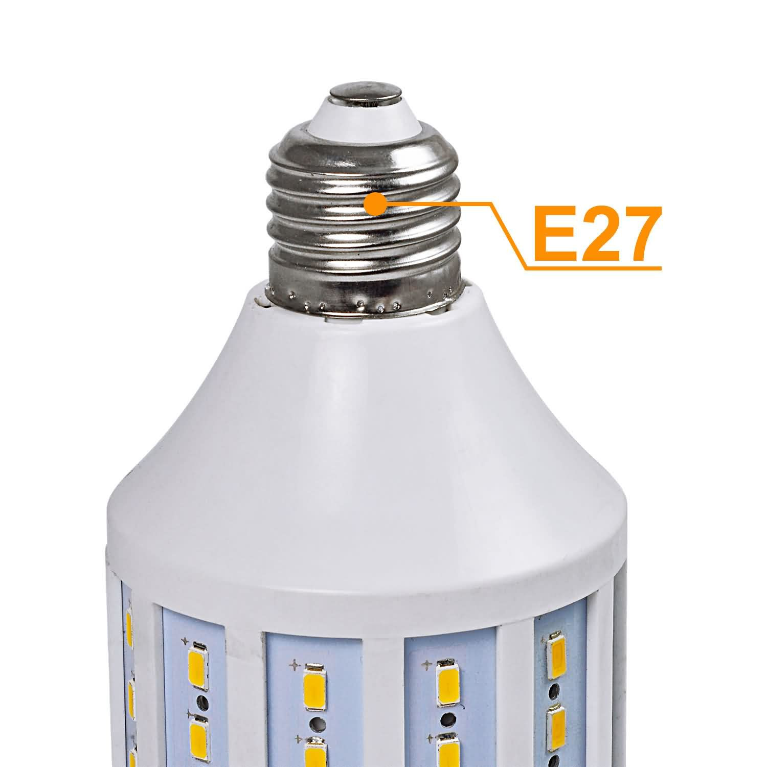 e27 20w dimmable led corn light 98x 5730 smd leds led bulb. Black Bedroom Furniture Sets. Home Design Ideas
