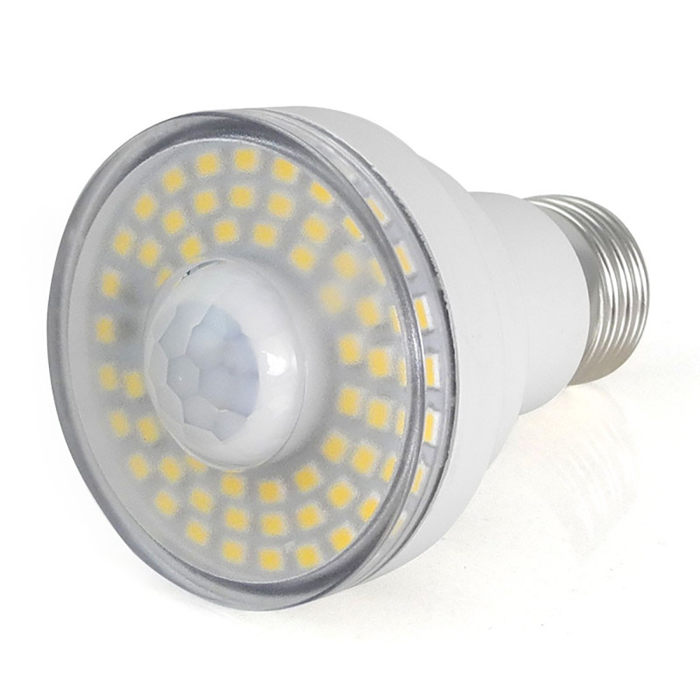 MENGS® E27 7W LED Body Motion Sensor Light SMD LEDs LED Lamp In Cool White Energy-Saving Lamp