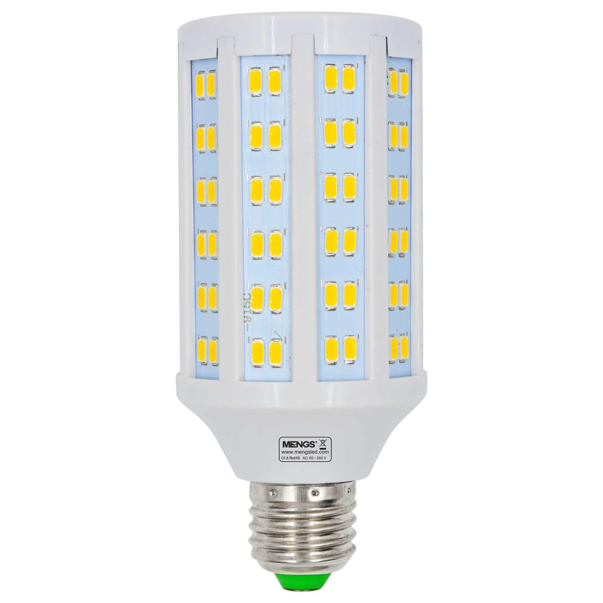 MENGS® E27 20W  LED Corn Light 144x 5730 SMD LED Bulb Lamp AC 85-265V in Warm White Energy-Saving Light
