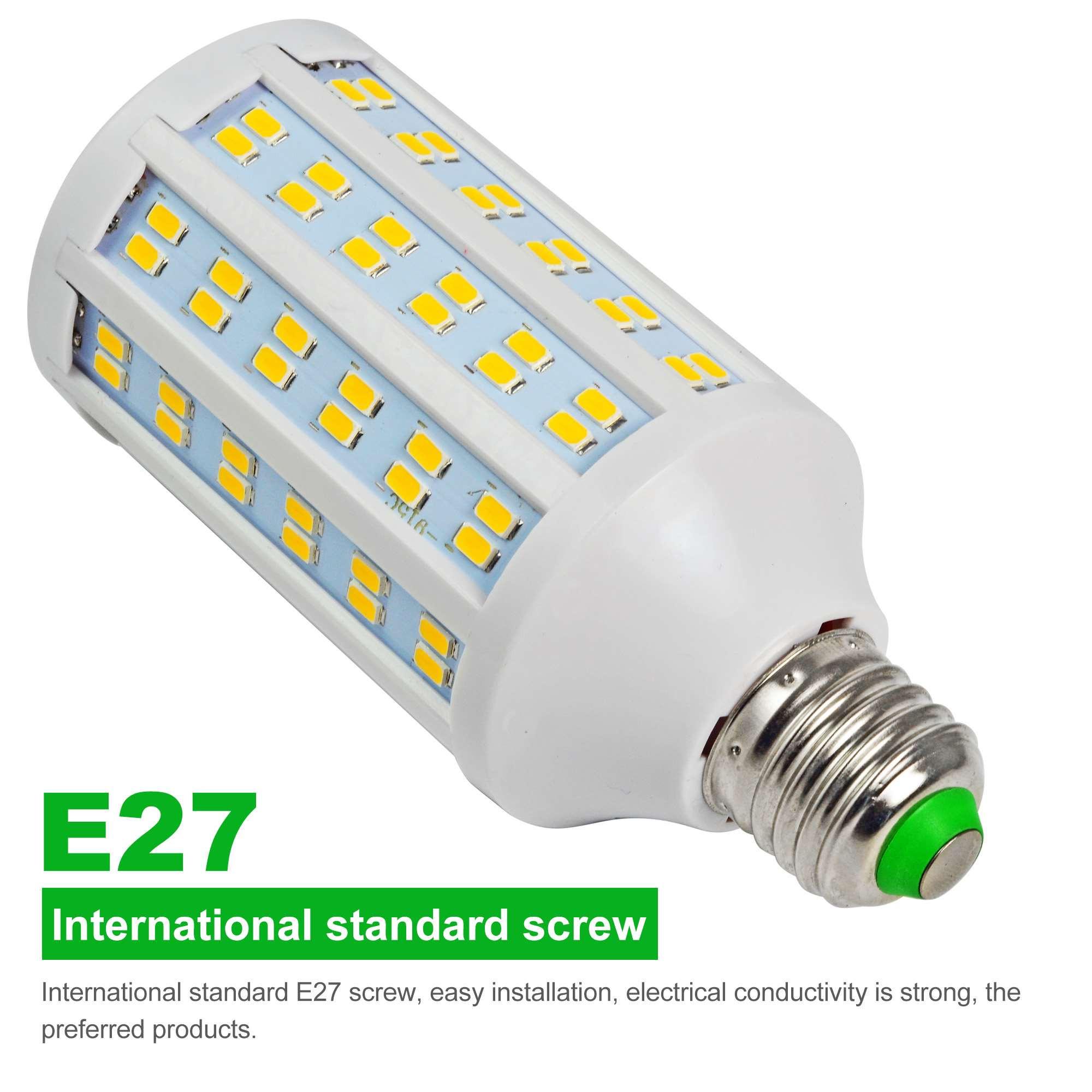 e27 20w led corn light 144x 5730 smd led bulb lamp ac 85 265v in warm white energy saving light. Black Bedroom Furniture Sets. Home Design Ideas