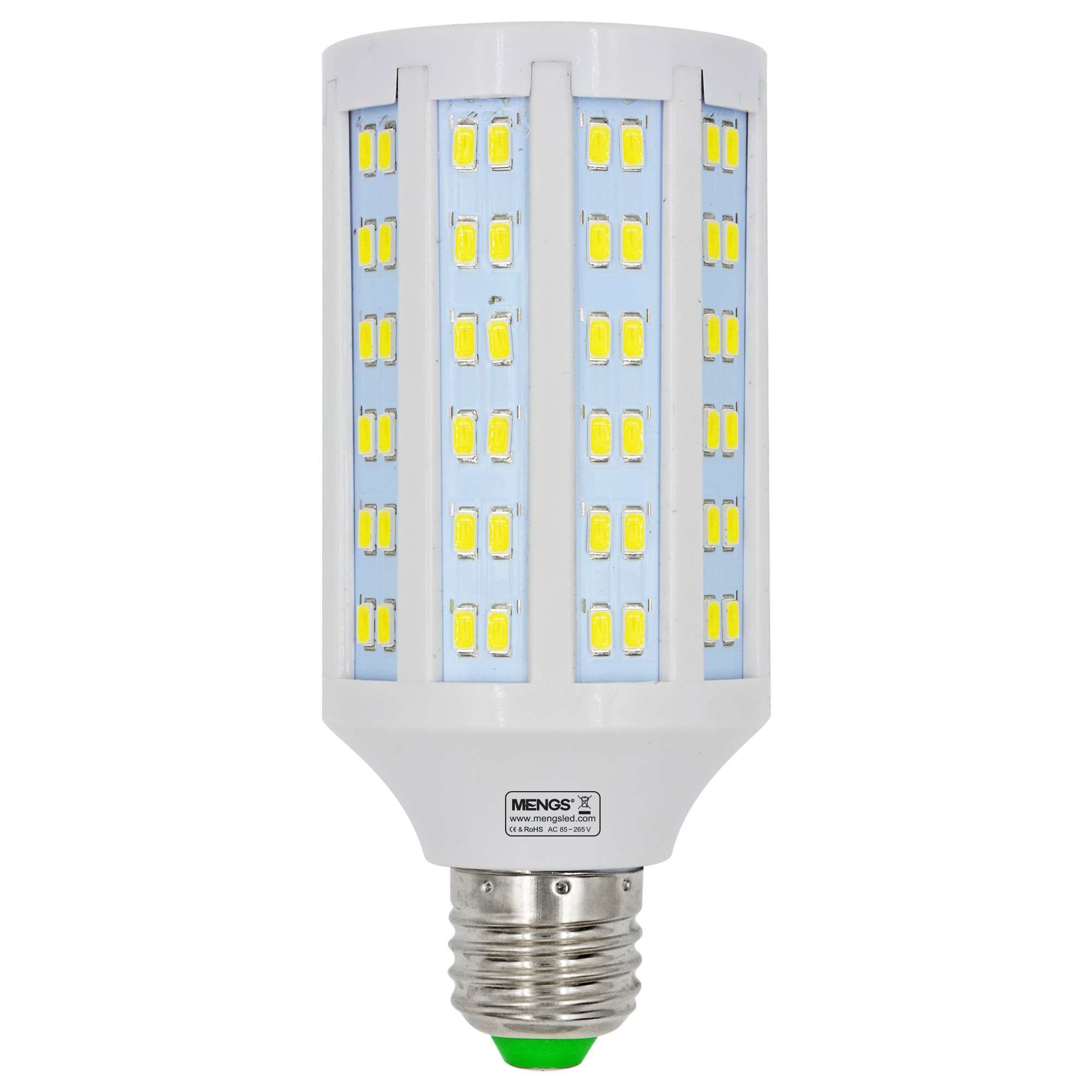 MENGS® E27 20W  LED Corn Light 144x 5730 SMD LED Bulb Lamp AC 85-265V in Cool White Energy-Saving Light
