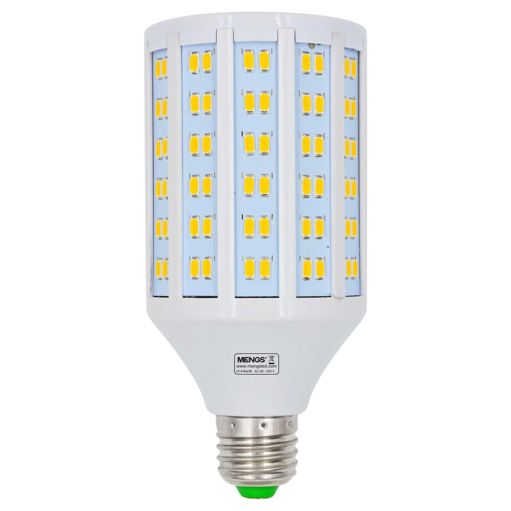 MENGS® E27 25W  LED Corn Light 180x 5730 SMD LED Bulb Lamp AC 85-265V in Warm White Energy-Saving Light