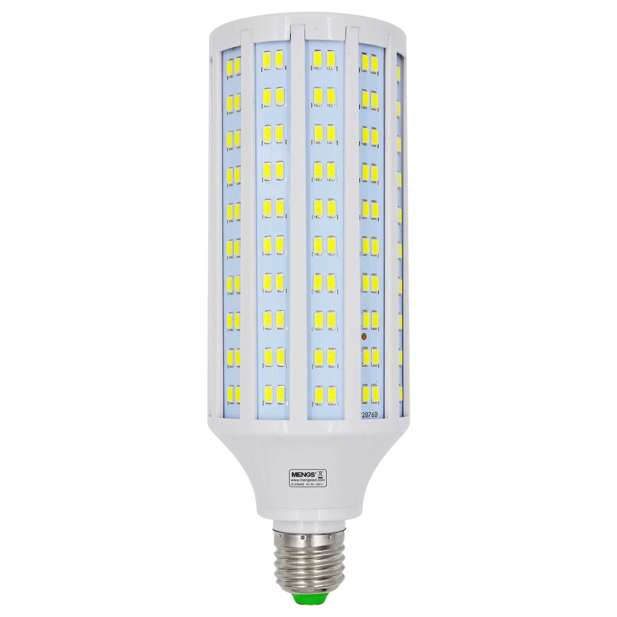 MENGS® E27 40W  LED Corn Light 280x 5730 SMD LED Bulb Lamp AC 85-265V in Cool White Energy-Saving Light