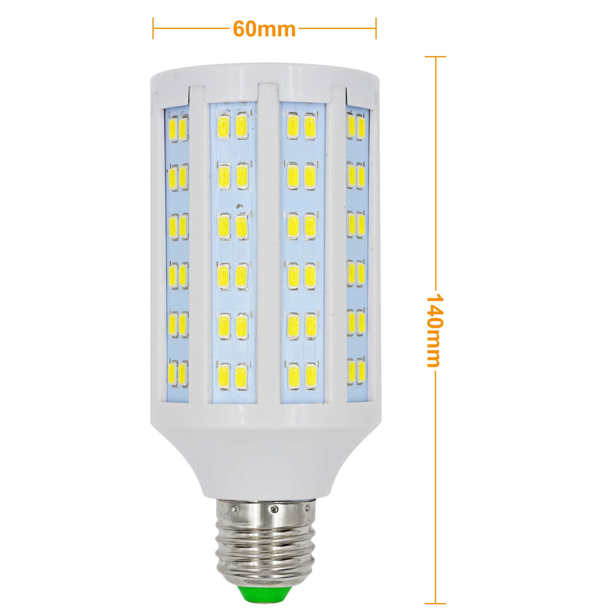 e27 20w led dimmable corn light 144x 5730 smd led bulb lamp ac 85 265v in cool white energy. Black Bedroom Furniture Sets. Home Design Ideas