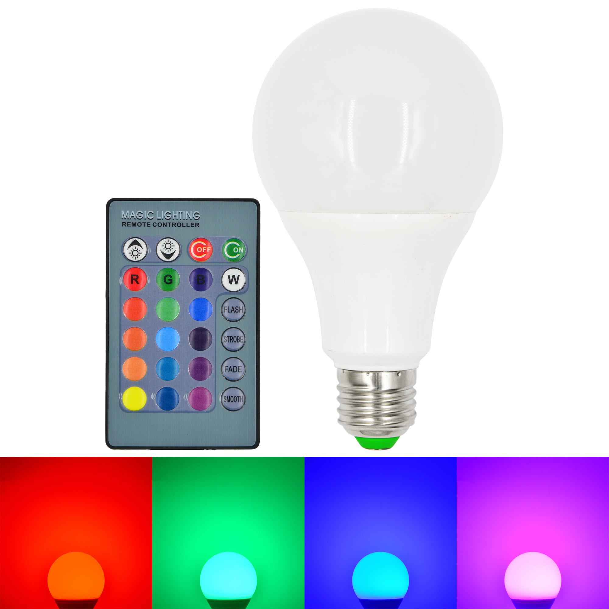 e27 10w led rgb globe light 16 colors changing led globe lamp bulb ir remote led lights. Black Bedroom Furniture Sets. Home Design Ideas