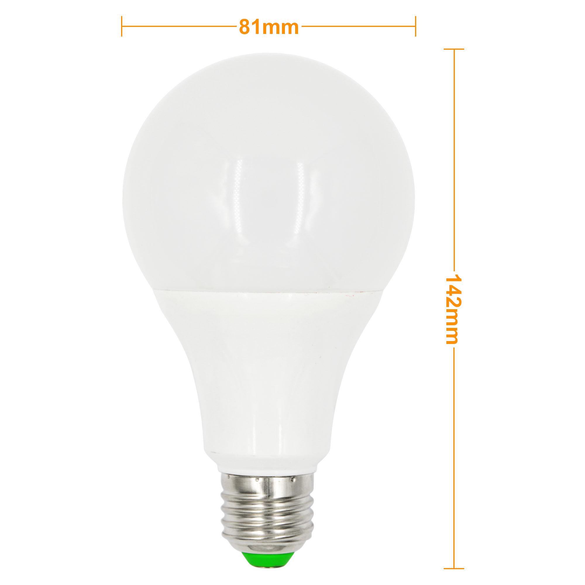 E27 10W LED RGB Globe Light 16 Colors Changing LED Globe