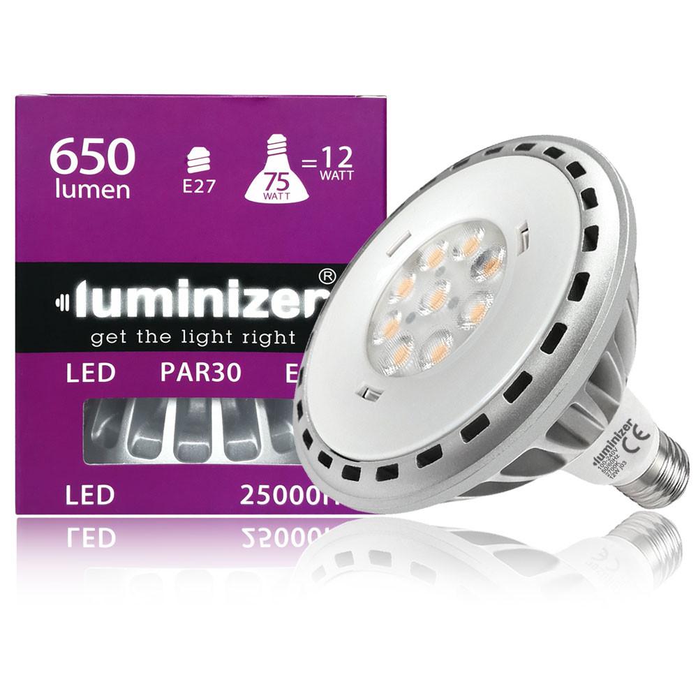 MENGS® E27 12W =75W LED PAR30 Light With Aluminum Alloy AC 100-240V 650LM LED Bulb Lamp In Cool White Energy-Saving Light