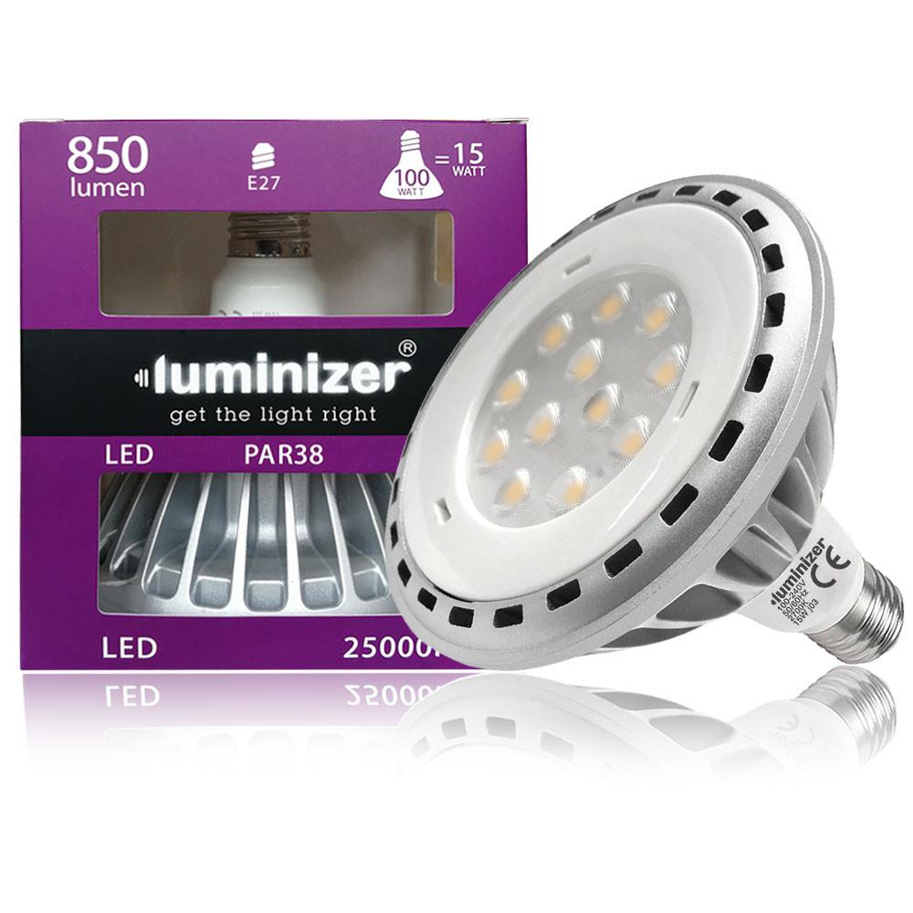 MENGS® E27 15W =100W LED PAR38 Light With Aluminum Alloy AC 100-240V 850LM LED Bulb Lamp In Warm White Energy-Saving Light