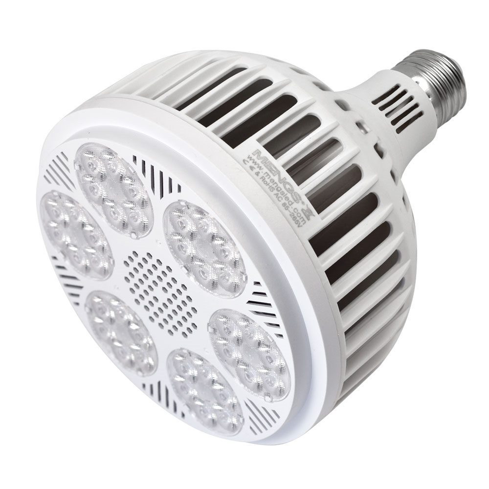 MENGS® E27 40W=320W PAR38 LED Spotlight with Aluminum Plate + PC Cover Material AC 85-265V Neutral White 4600LM