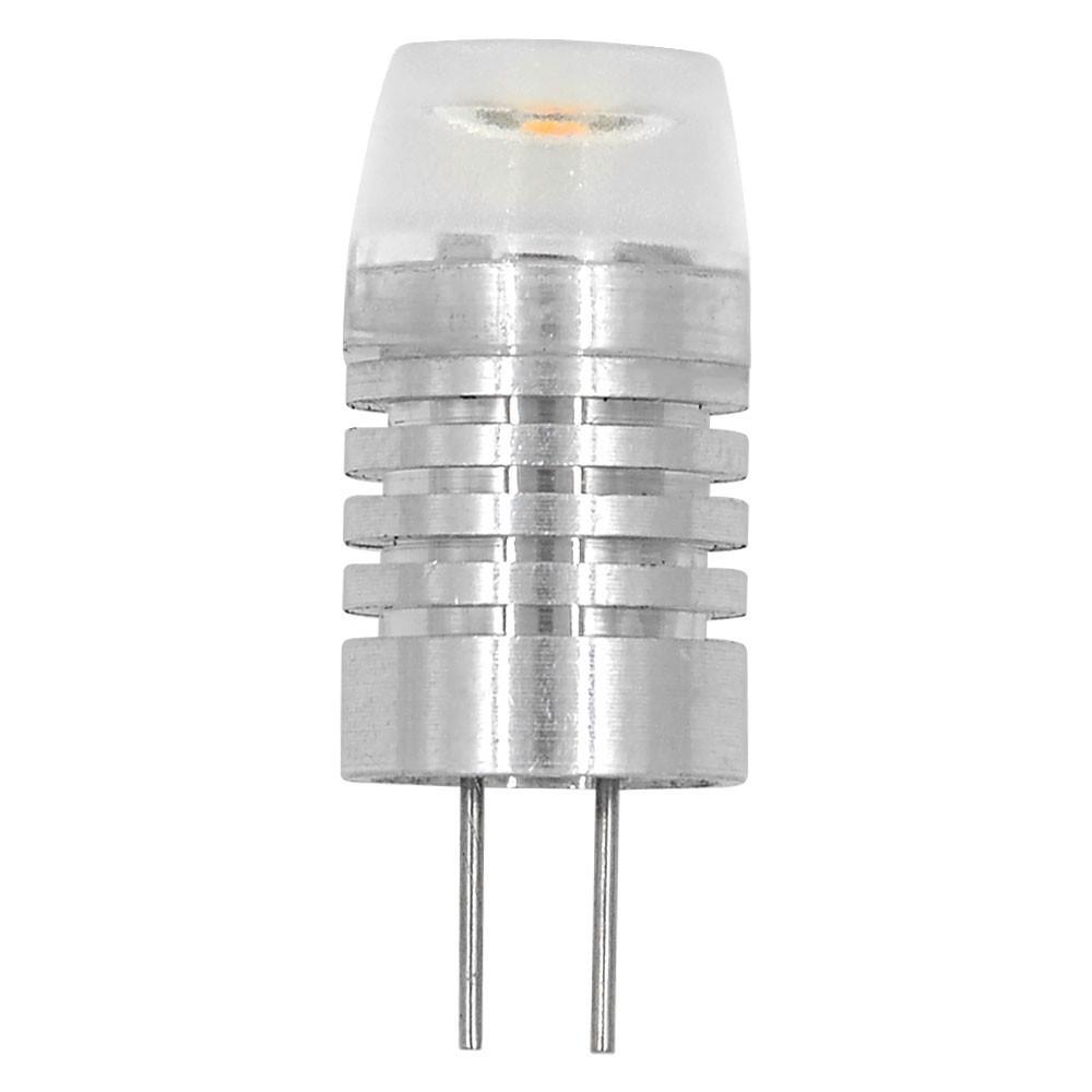 MENGS® G4 1W LED Light Aluminum Body AC/DC 12V In Warm White Energy-Saving Lamp