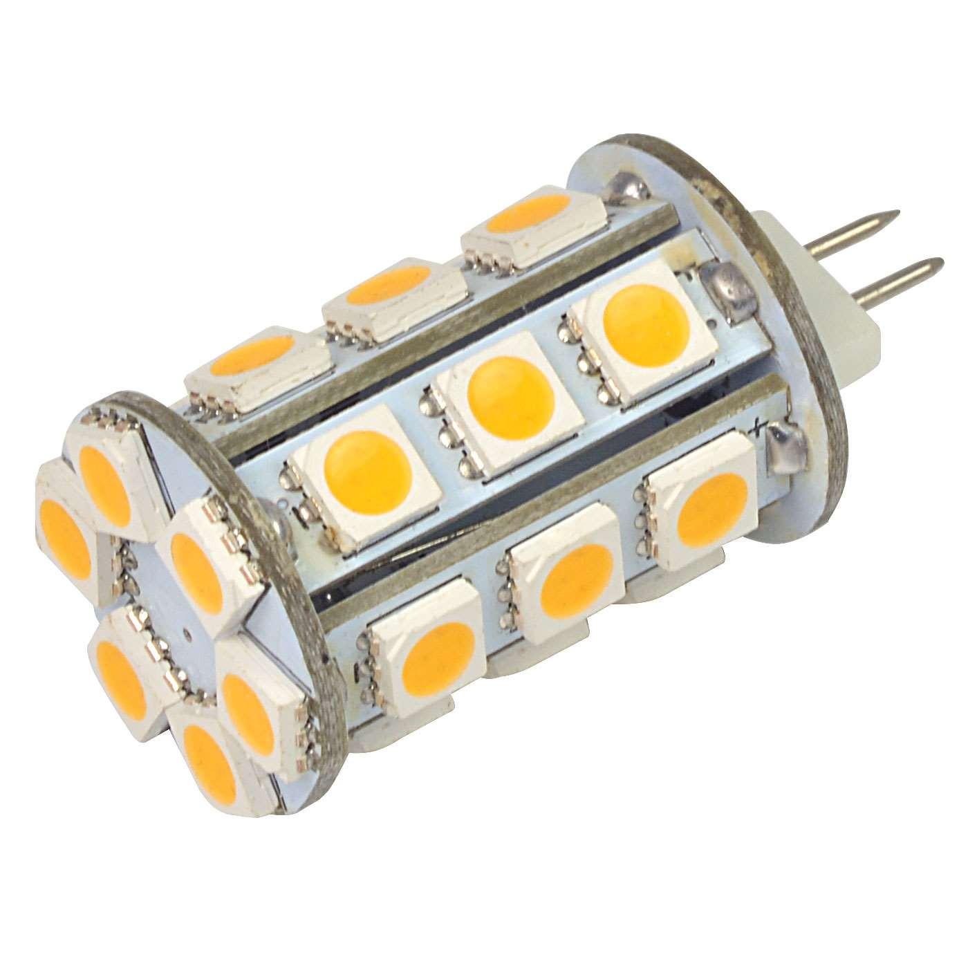 MENGS® G4 4W LED Light 24x 5050 SMD LEDs LED Bulb In Warm White Energy-Saving Lamp