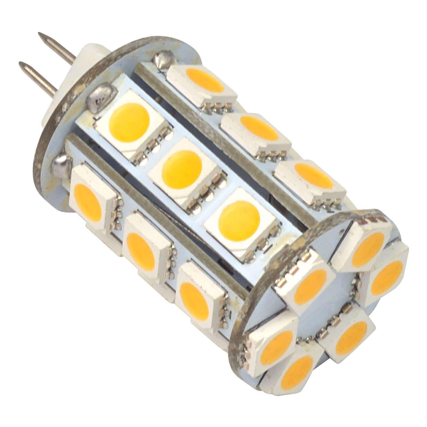 g4 4w led light 24x 5050 smd leds led bulb in warm white energy saving lamp led lights. Black Bedroom Furniture Sets. Home Design Ideas