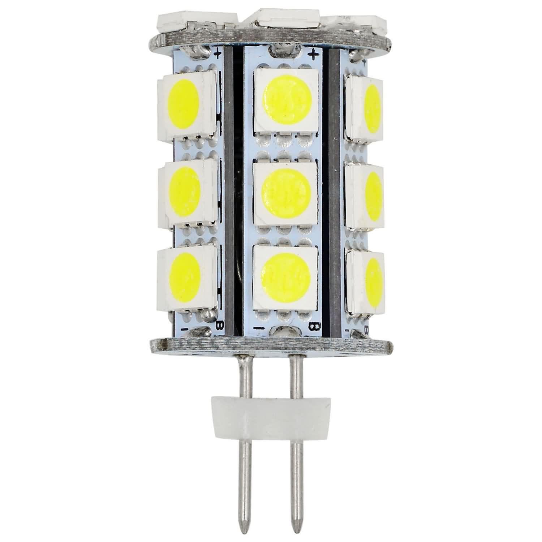 MENGS® G4 4W LED Light 24x 5050 SMD LEDs LED Bulb In Cool White Energy-Saving Lamp
