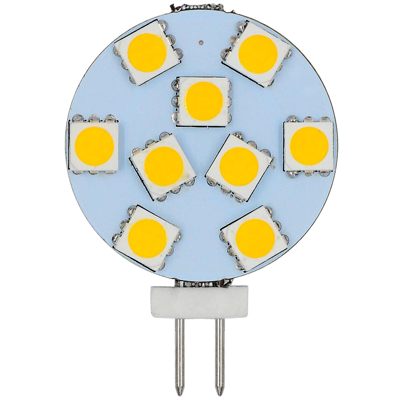 MENGS® G4 1.5W LED Light 9x 5050 SMD LEDs LED Bulb In Warm White Energy-Saving Lamp