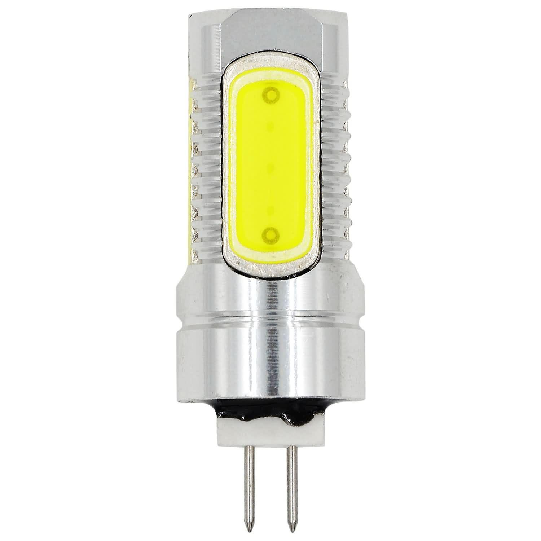 MENGS® G4 7.5W LED Light 5 COB LEDs LED Bulb AC/DC 10-30V In Cool White Energy-Saving Lamp