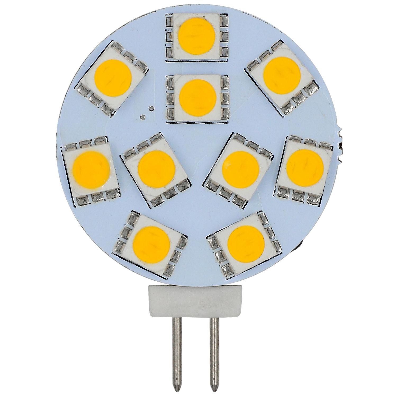 MENGS® G4 1.8W LED Light 10x 5050 SMD LEDs LED Lamp Bulb AC/DC10-30V In Warm White Energy-saving Lamp