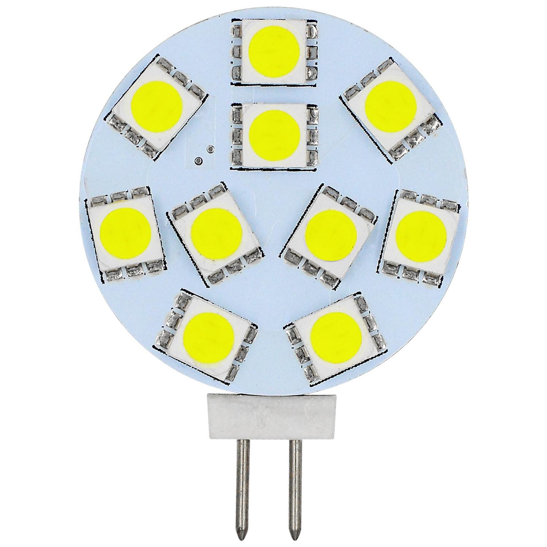 MENGS® G4 1.8W LED Light 10x 5050 SMD LEDs LED Lamp Bulb AC/DC10-30V In Cool White Energy-saving Lamp