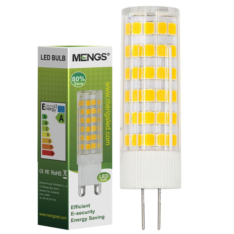 MENGS® G4 7W LED Light 75x 2835 SMD LED Bulb Lamp In Cool White Energy-Saving Light