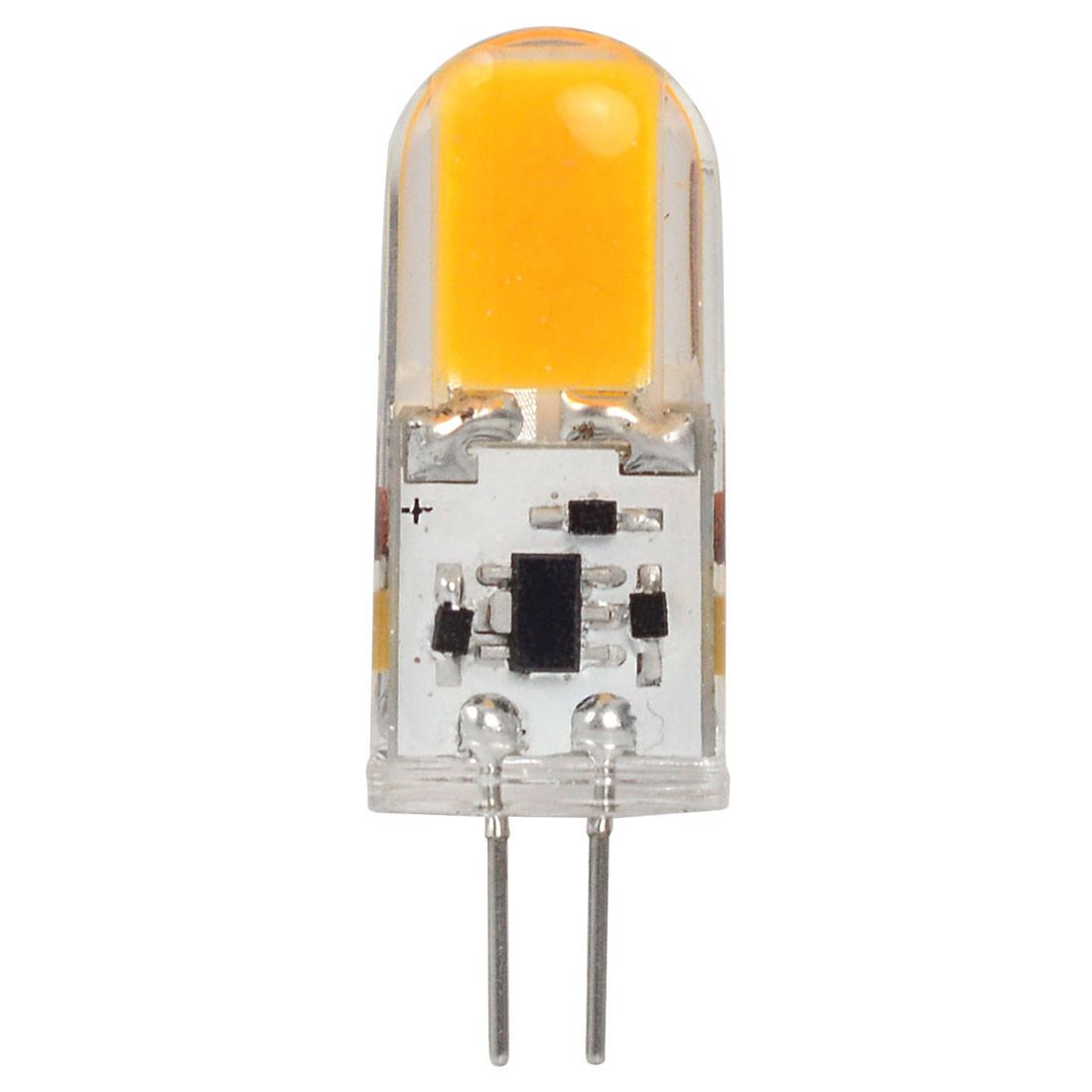 MENGS® G4 4W LED Light COB LED Bulb Lamp AC/DC 12V In Warm White Energy-Saving Light