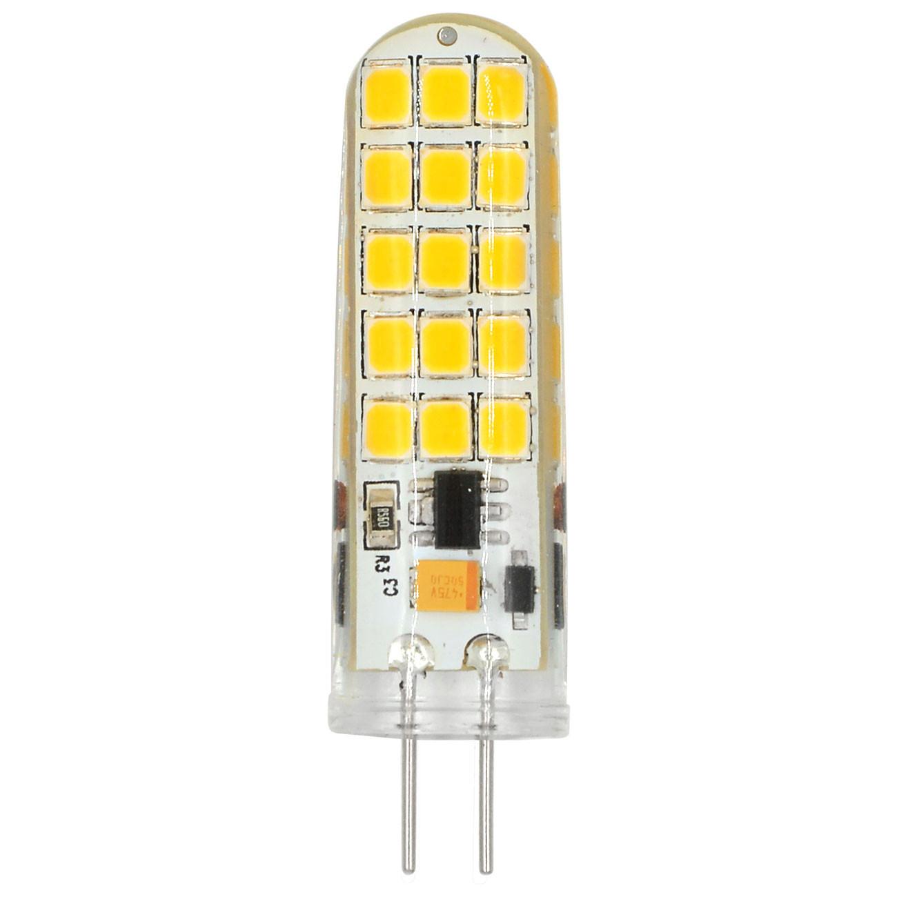 MENGS® G4 4W LED Light 30x 2835 SMD LED Bulb Lamp AC/DC 12V In Cool White Energy-Saving Light