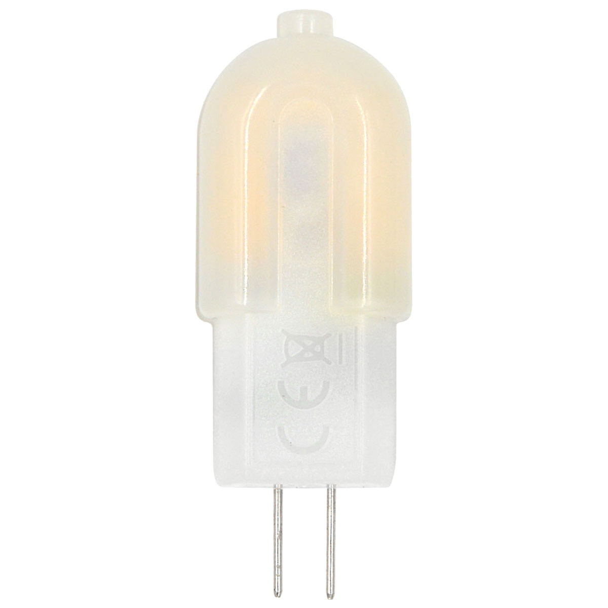 MENGS® G4 4W LED Light 18x 2835 SMD LED Bulb Lamp AC/DC 12V in Warm White Energy-Saving Light