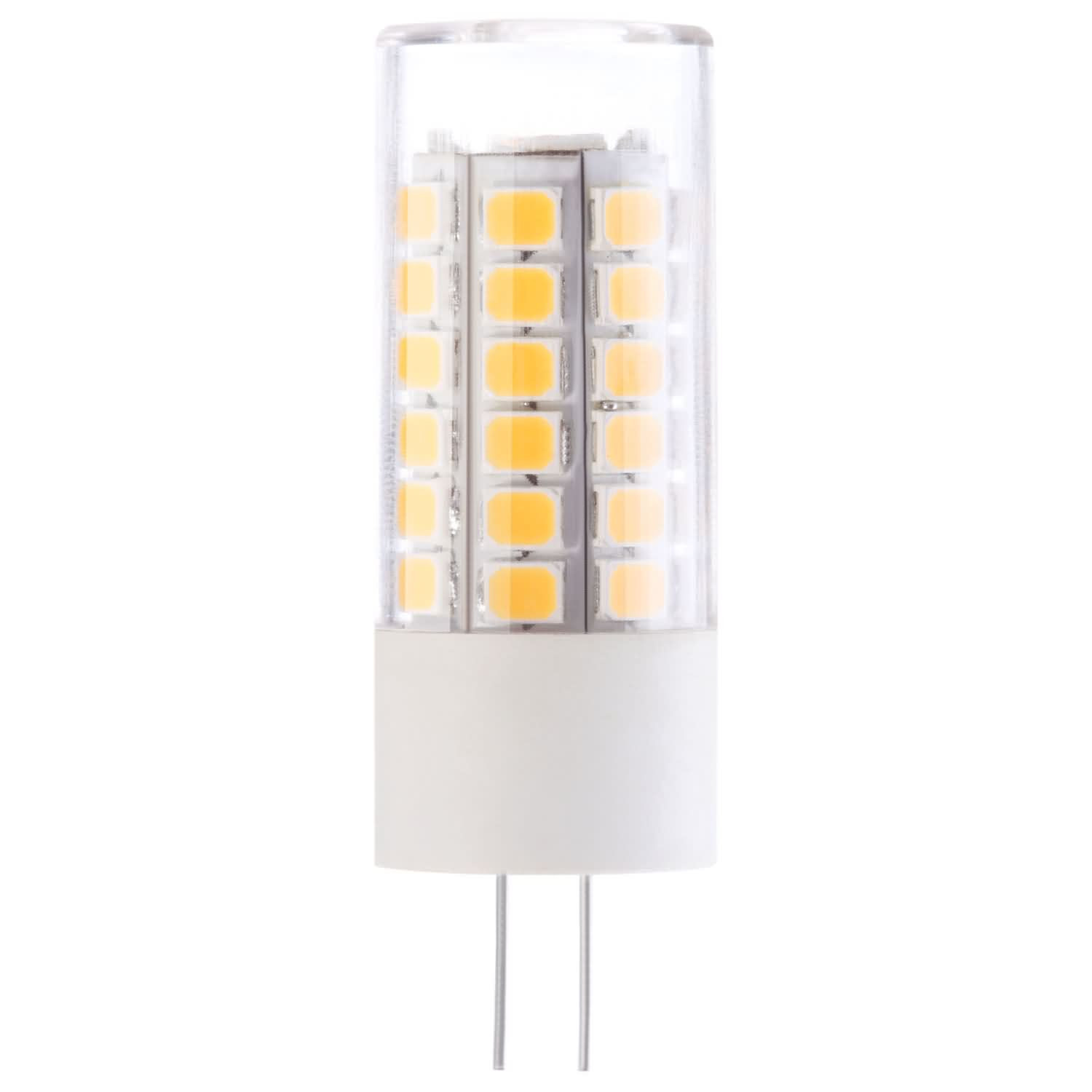 MENGS® G4 5W LED Light 51x 2835 SMD LED Bulb Lamp With Plastic Coated Aluminum Material In Warm White Energy-Saving Light