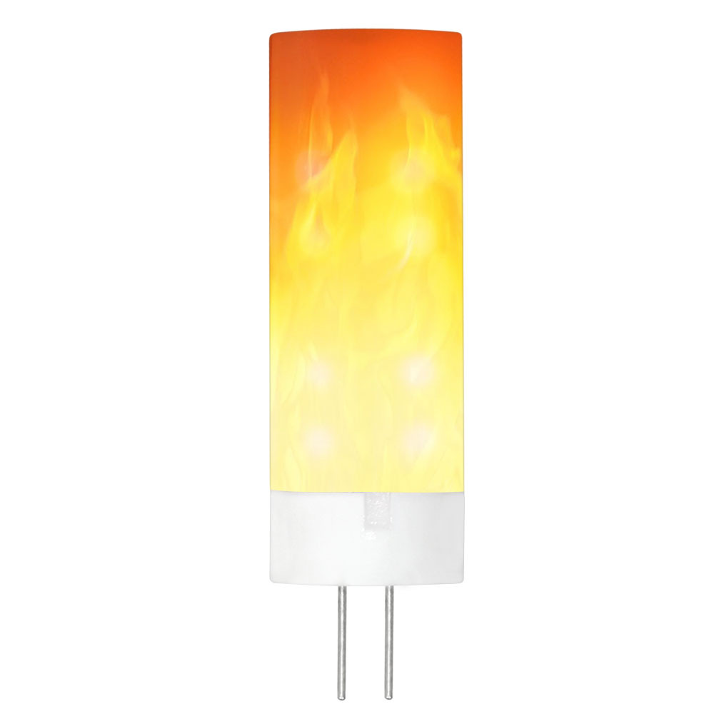 MENGS® G4 0.5W LED Flame Light Flame Color AC/DC 12V 36X2835 SMD With PC + Ceramics For Home   decoration Bedroom Living Room Bar Hotel Night Clubs Outdoor Gardens Restaurant Coffee shop Villas   Wedding decorations Party Church Castle