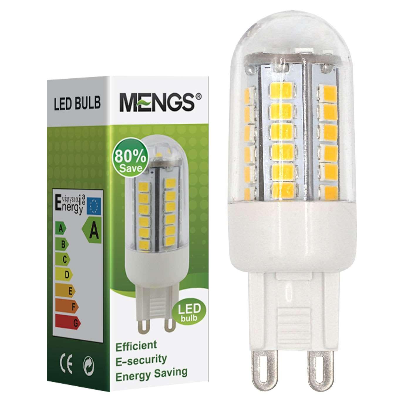 MENGS® G9 3W LED Corn Light 42x 2835 SMD LEDs LED Bulb AC 220V-240V In Cool White Energy-Saving Lamp