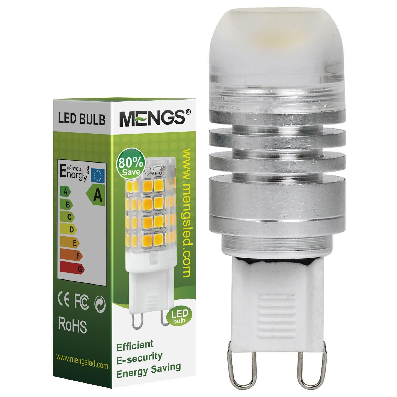 MENGS® G9 3W LED Light COB LEDs LED Bulb DC 12V In Warm White Energy-Saving Lamp