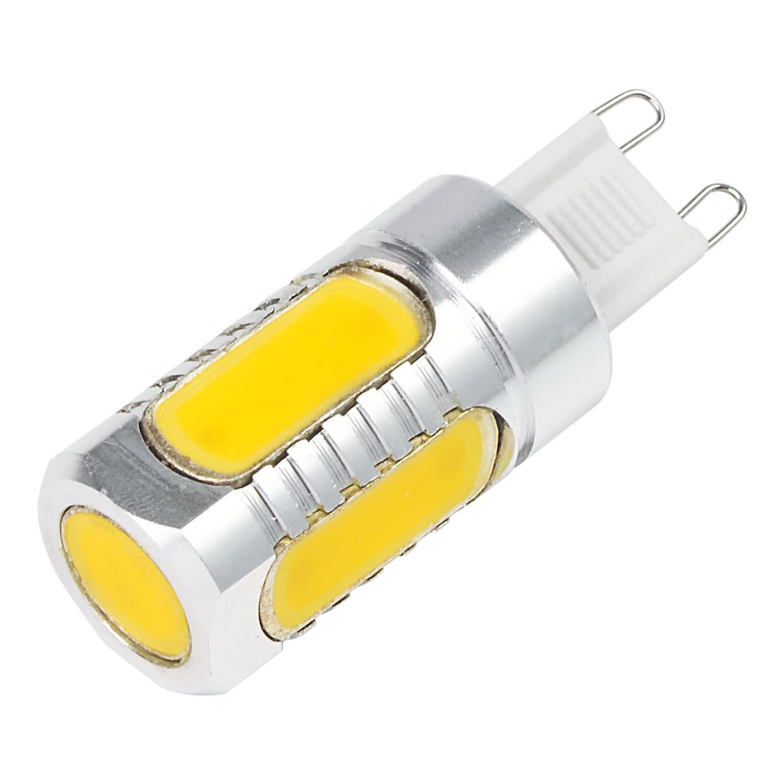 g9 6w led light cob leds led bulb ac dc 10 30v in warm white energy saving lamp led lights. Black Bedroom Furniture Sets. Home Design Ideas