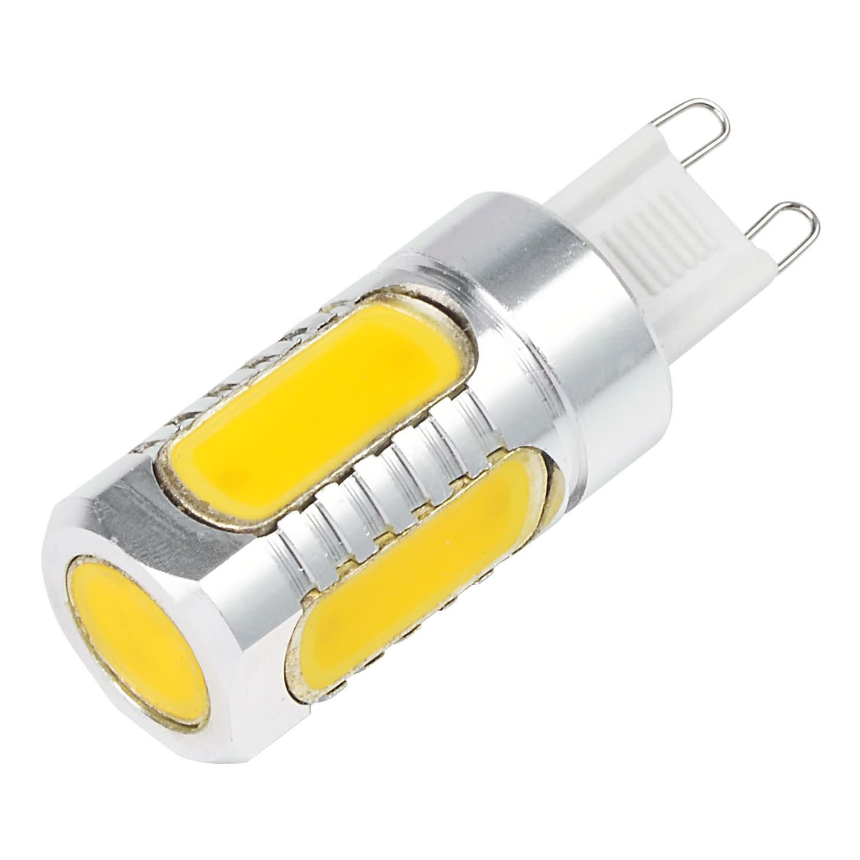 MENGS® G9 6W LED Light COB LEDs LED Bulb AC/DC 10-30V in Cool White Energy-Saving Lamp