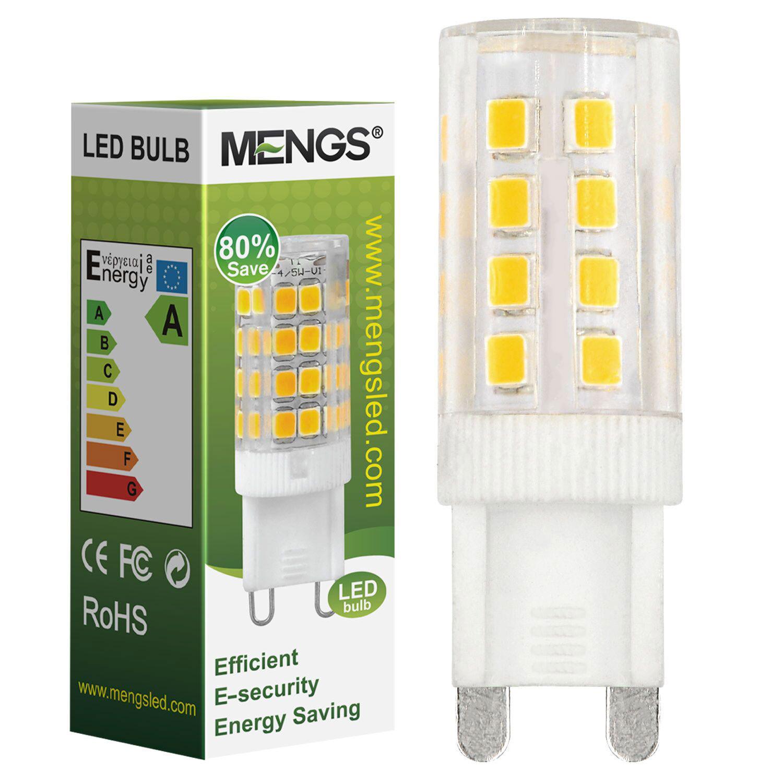 MENGS® G9 4W LED Light 35x 2835 SMD LED Bulb Lamp AC 220-240V In Cool White Energy-Saving Light