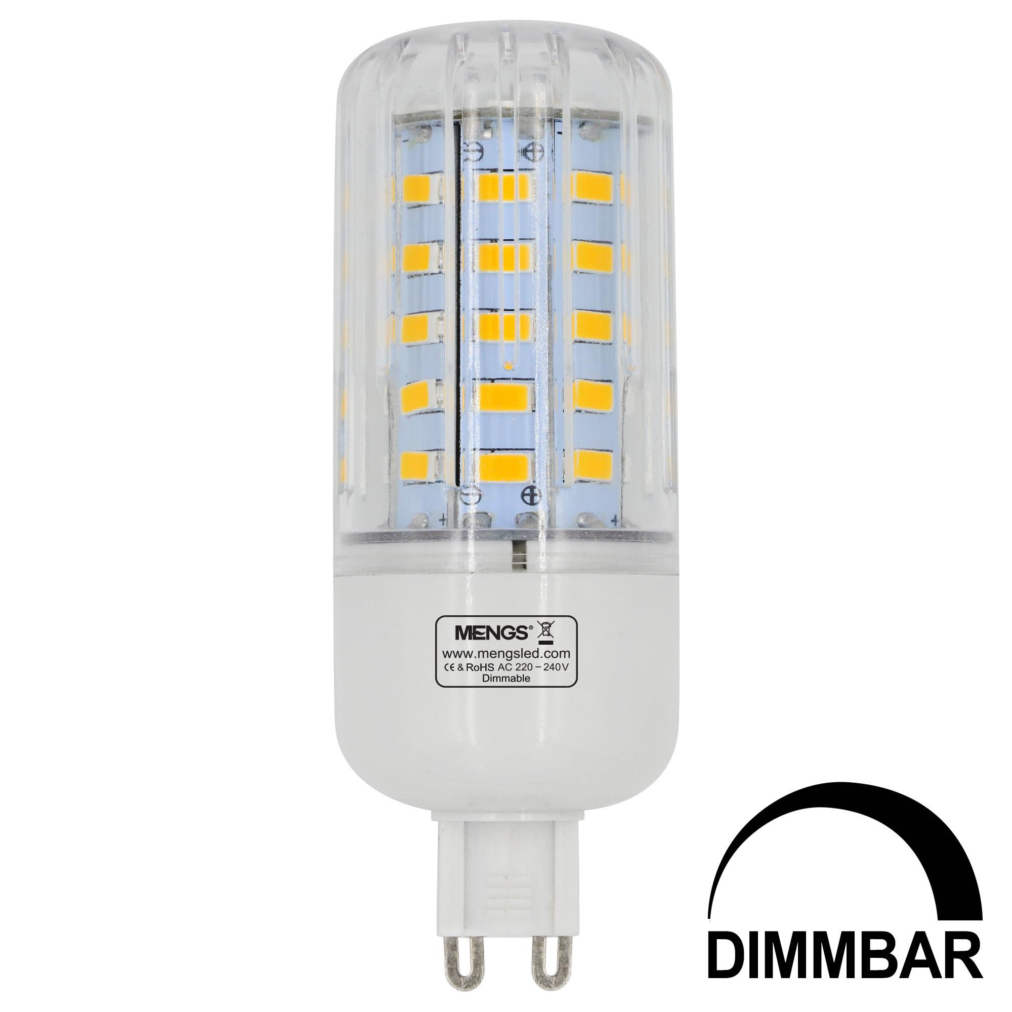 g9 7w led dimmable corn light 50x 5736 smd led bulb lamp. Black Bedroom Furniture Sets. Home Design Ideas
