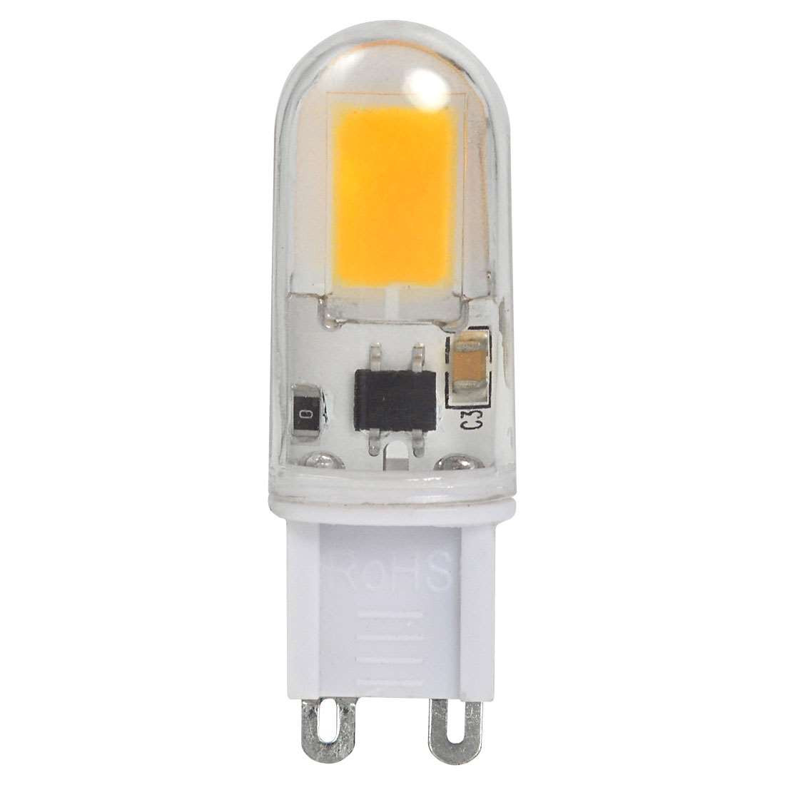 g9 4w led light cob with acrylic material led bulb lamp ac 220 240v in warm white energy saving. Black Bedroom Furniture Sets. Home Design Ideas