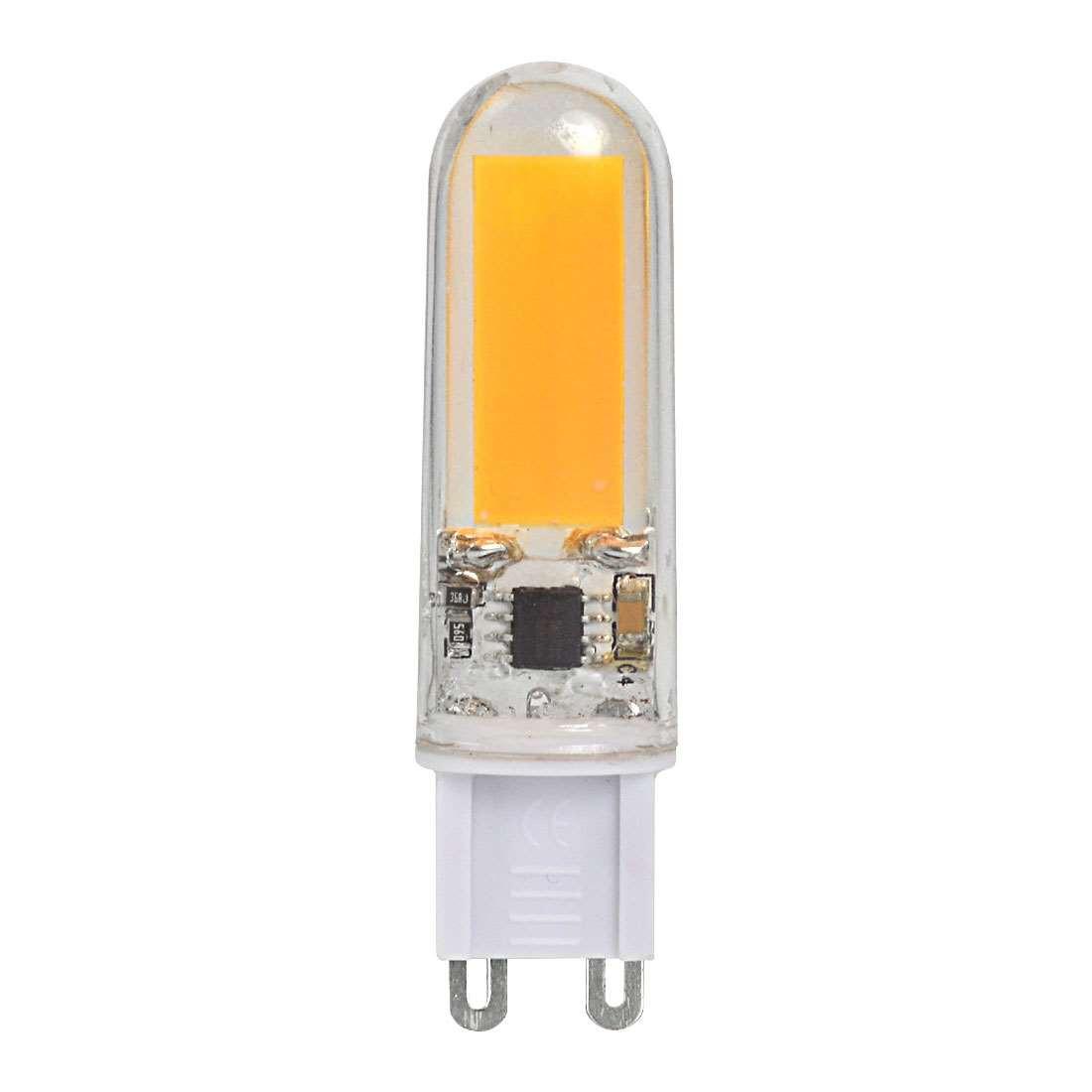 g9 6w led light cob led bulb lamp ac 220 240v in cool white energy saving light led lights. Black Bedroom Furniture Sets. Home Design Ideas