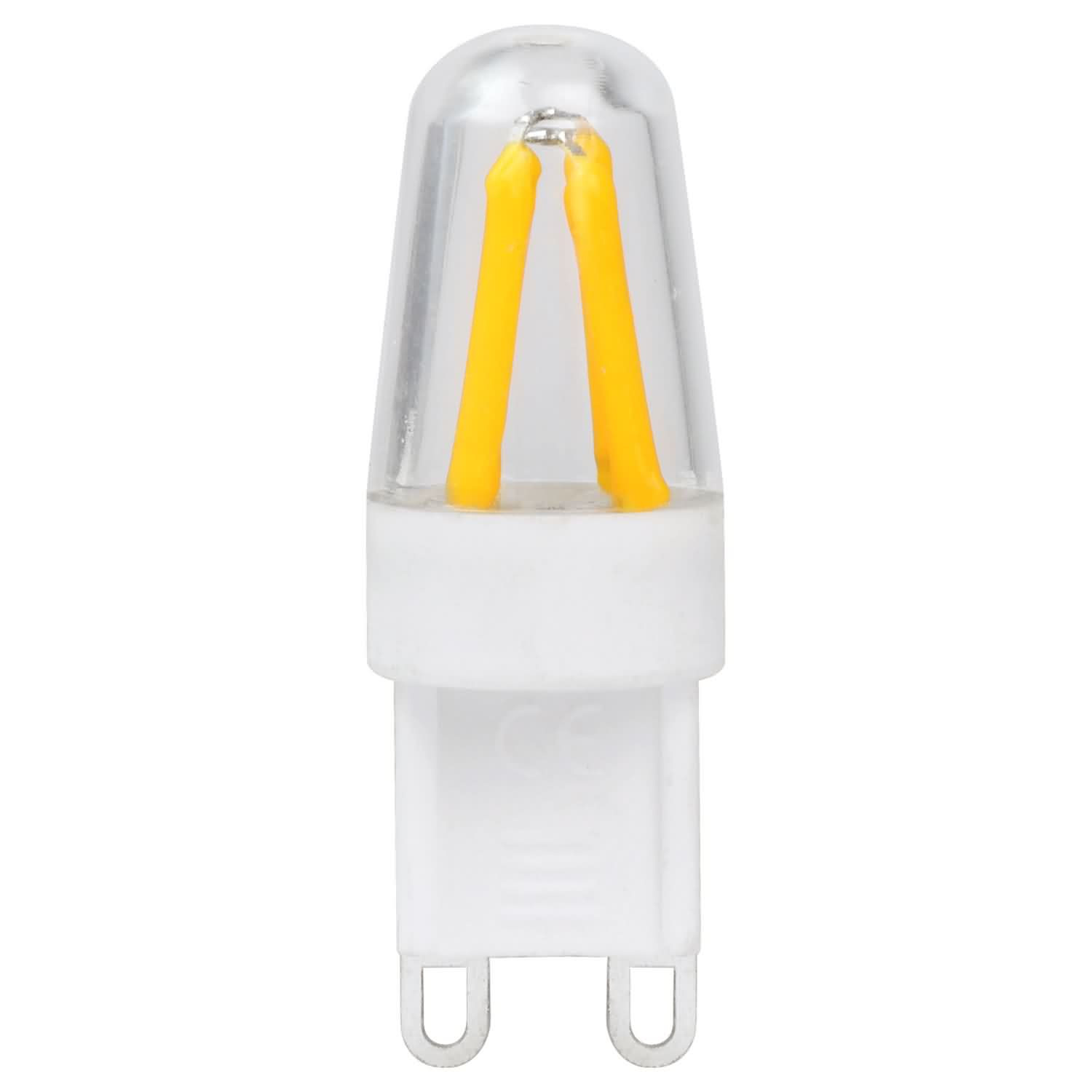 MENGS® G9 3W LED Light With PC Material COB LED Bulb Lamp In Warm White Energy-Saving Light
