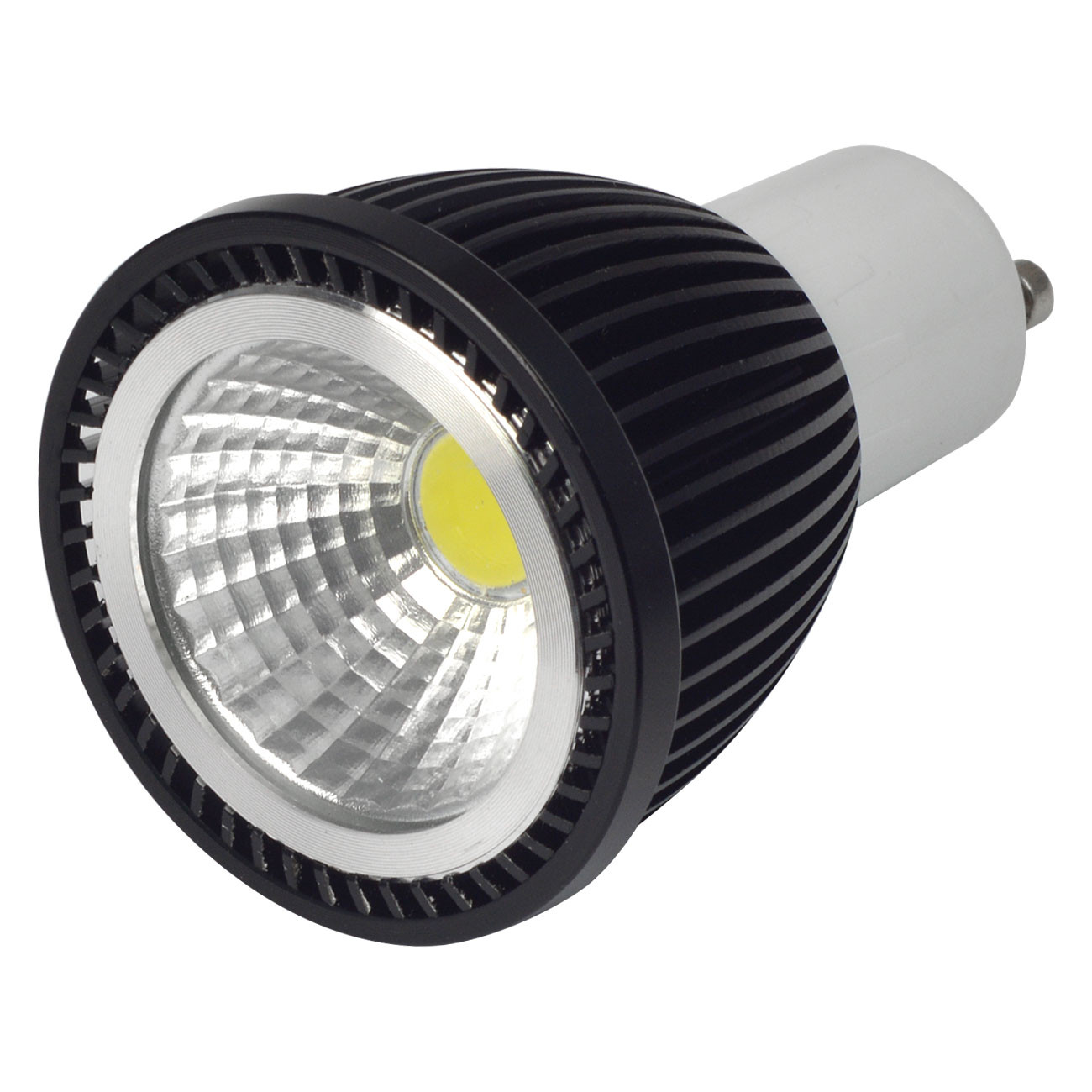 MENGS® GU10 5W LED Spotlight COB LED Bulb in Cool White Energy saving Lamp - 120°