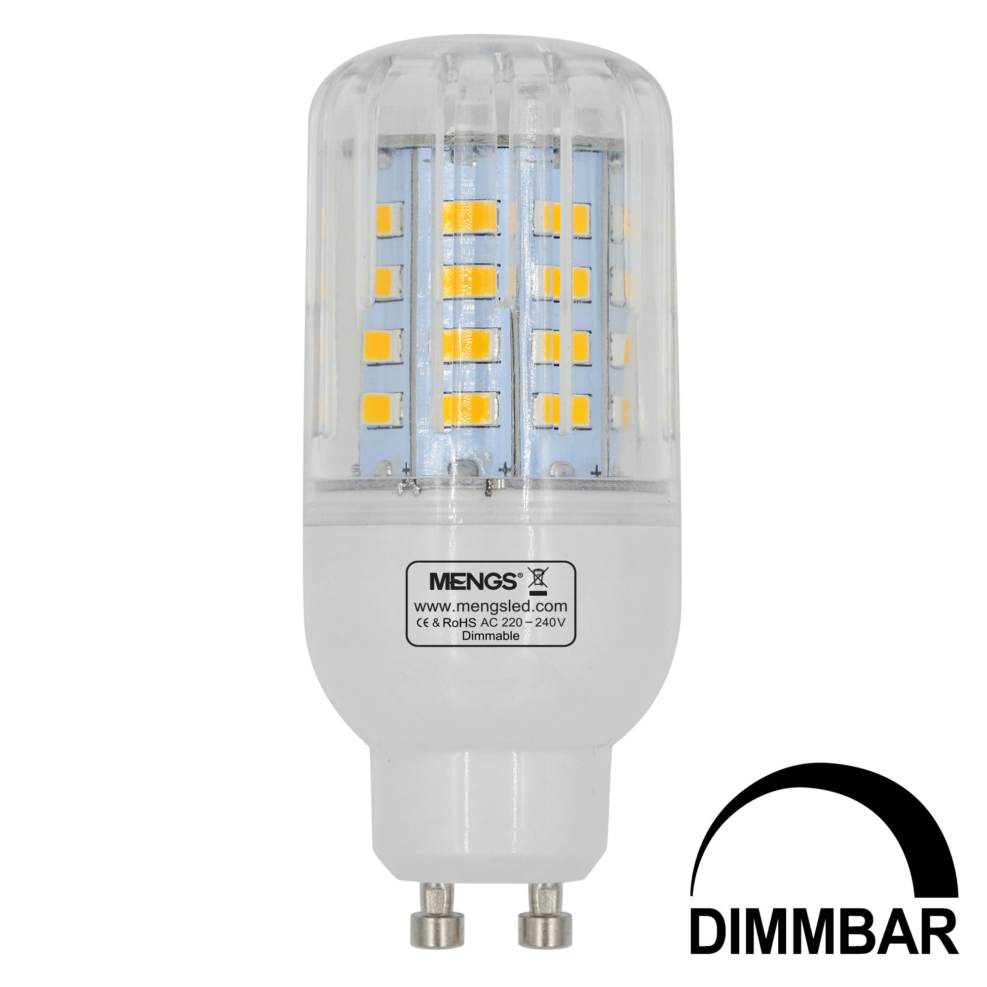 MENGS® GU10 5W LED Dimmable Corn Light 40x 5736 SMD LED Bulb Lamp AC 220-240V In Warm White Energy-Saving Light