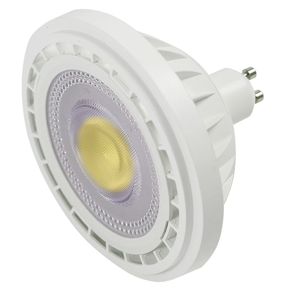 MENGS® GU10 12W=95W AR111 LED Spotlight With Aluminum Material COB AC 85-265V 1200LM In Cool White