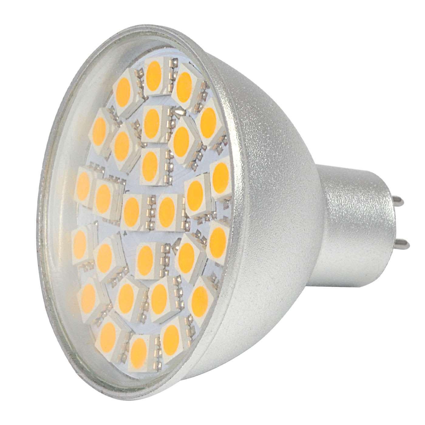 MENGS® MR16 5W LED Spotlight 27x 5050 SMD LEDs LED Lamp Bulb in Cool White Energy-Saving Lamp